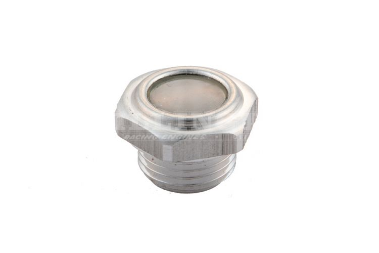 Millington Diamond Cam Cover Sight Glass 1/2  BSP