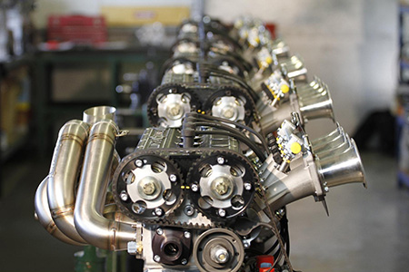 Millington's are regularly putting the diamond series engine under extensive tests