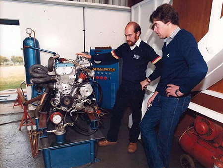 In 1990 Tim approached Roy about supplying an engine